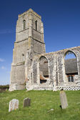 St Andrew's Church, Covehithe, Suffolk, England — Stock Photo