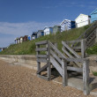 Seafront at Old Felixstowe, Suffolk, England — Stock Photo