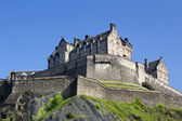 Kasteel van edinburgh in schotland, — Stockfoto
