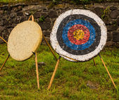 Target for the arrows — Stock Photo