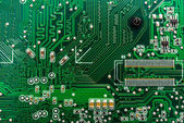 Closeup of circuit board — Stockfoto