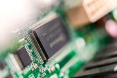 Closeup čip — Stock fotografie