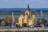 Saint Alexander Nevsky Cathedral — Stock Photo