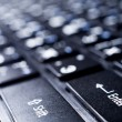 Stock Photo: Computer(laptop) keyboard closeup