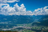 Blick ins Pustertal — Stock Photo