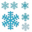 Snowflakes — Stock Vector #24923197
