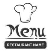 Logotipo de restaurante — Vector de stock