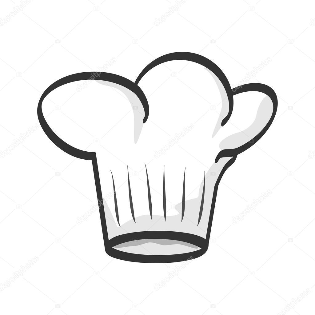 Gorro de chef — Vector de stock © yakstudio #31331853