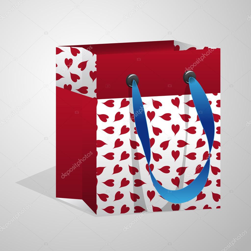 Valentine gift bag