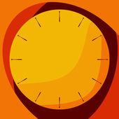 Sarı yakında izle — Stok Vektör