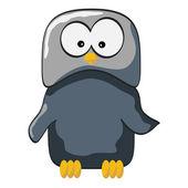 Cartoon owl — Stock Vector