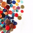 The composition of buttons — Stock Photo
