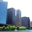 Riverside of Chicago — Stock Photo