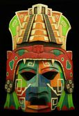Mayan Mask — Stock Photo