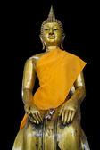 Sit buddha — Stock Photo