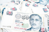 Singapore money — Stock Photo