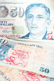 シンガポールのお金 — ストック写真