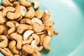 Amendoim branco isolado — Fotografia Stock