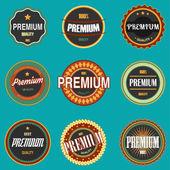 Vector of Premium vintage logo.eps 10 — Stock Vector