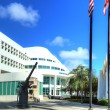 Miami Beach Police Station — Stock Photo