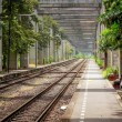 Railway in Bangkok — Stock Photo