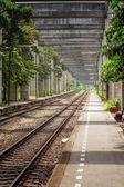 Railway in Bangkok — Stock Photo