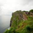 View at Pura Uluwatu temple — Stock Photo