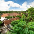 Balinese village — Stock Photo