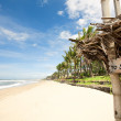 Tropical beach in Bali — Stock Photo