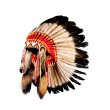 Native american indian chief headdress (indian chief mascot, ind — Stock Photo #27064271