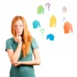 What house to choose ? — Stock Photo