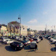 VLADIVOSTOK - OCTOBER 18 : timelapse, downtown area, main square view — Stock Video