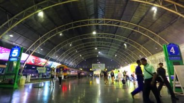 Hua Lamphong Railway Station — Stock Video