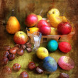 Arrangement for Easter — Stock Photo