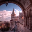 Archway at Fisherman's Basiton, Budapest — Stock Photo