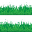 Stock Vector: Green grass seamless texture.