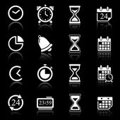 Time Icons & Simbols. — Stock Vector