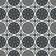 Geometric pattern roman cosmati inspired — Stock Photo
