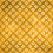 Damask seamless orange pattern, Damaged fabric like — Stock Photo