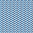 Chevron pattern blu — Stock Vector