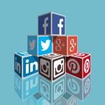 社会的なメディア — ストックベクタ #39565281