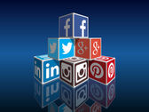 Social media concept — Stock Vector