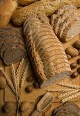 Pan alambiques: variedad — Foto de Stock