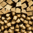 Pile of wine stakes - Wood — Stock Photo #40278929