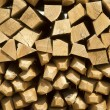 Pile of wine stakes - Wood — Stock Photo #40279049