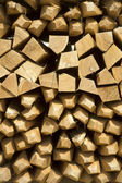 Pile of wine stakes - Wood — Stock Photo