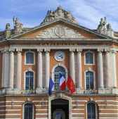 The Capitole of Toulouse - France-Tourisme — Fotografia Stock