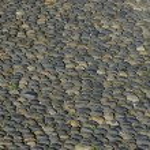 Street round roller-Pebble stone — Stock Photo #40280045