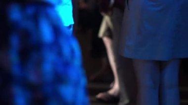 Undentified dancing — Vídeo de stock
