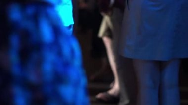 Undentified dancing — 图库视频影像